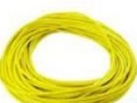 x German silicon 12 Gauge Wire yellow